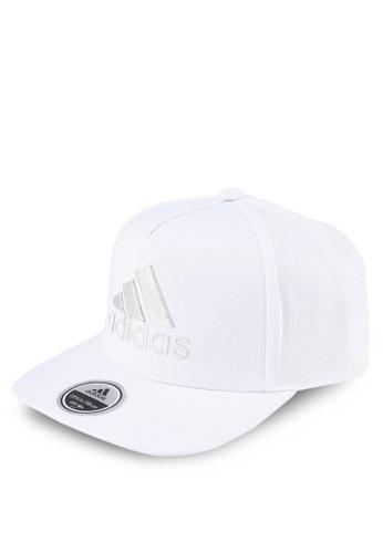 adidas white adidas h90 logo cap 82D54ACB587890GS 1 dbfa1e81d8b