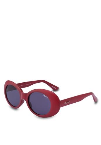 Quay Australia red Frivolous Sunglasses EA65AGL8F35A8BGS_1