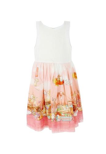 Viva Vida Kids pink and orange Cadi Bunnies 169BDKA60690B4GS_1