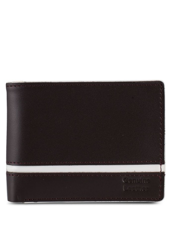 Miajee's brown Classic Multicolor handcrafted leather bifold wallet - Chocolate E97C5ACE0773E3GS_1