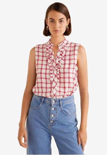 7781e45f05017b Buy Mango Checkered Soft Fabric Shirt