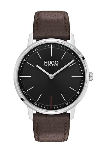 Hugo Boss black HUGO Exist Black Unisex Watch (1520014) C3685ACA202715GS_1