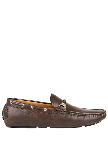 Tomaz brown Tomaz C394 Gold Buckle Moccasins (Coffee 75513SH26444F8GS_1