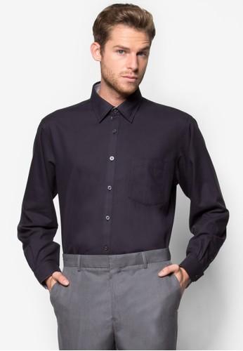 正裝長袖襯衫, zalora 台灣服飾, 素色襯衫