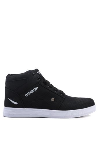 Rocklander black Matarazo Sneakers 7228FSH35DDC0BGS_1