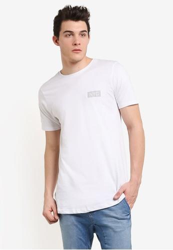 Cotton On white Longline Scoop Hem Tee CO372AA0RI1JMY_1
