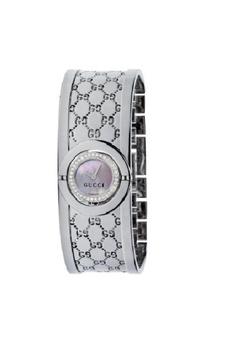 0567f0e07cc45 Gucci silver GUCCI 112 THE TWIRL WOMEN'S WATCH 3AA5BAC82E3202GS_1
