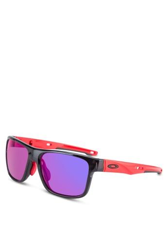 Oakley black Active Performance OO9371 Sunglasses OA636GL49JFQMY_1