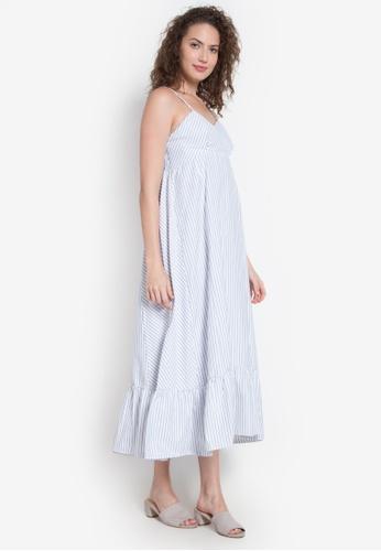 Chictees blue Nadine Long Dress CH524AA0K9H5PH_1