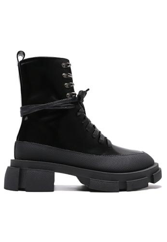 Twenty Eight Shoes Platform Lace Up Martin Boots YLT2020-5 A1A25SH66D488FGS_1
