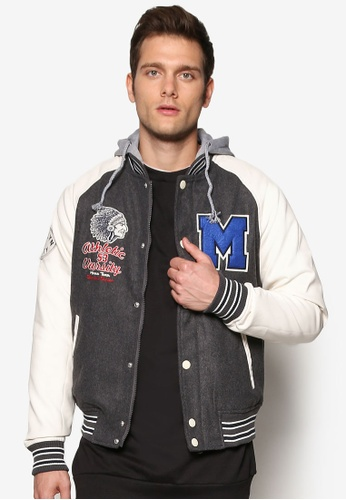 Buy Alcott Varsity Baseball Jacket | ZALORA Singapore