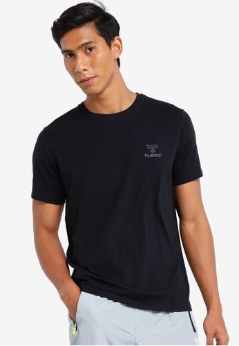 Hummel black Hummel Sigge Short Sleeve T-Shirt 22FA9AA9B45989GS_1
