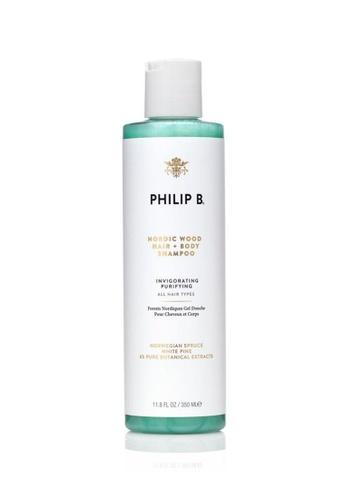 Philip B Philip B - Nordic Wood Hair + Body Shampoo 北歐樹木洗髮沐浴露 #抗菌滋潤 350.0g/ml 53714BE4E5A018GS_1