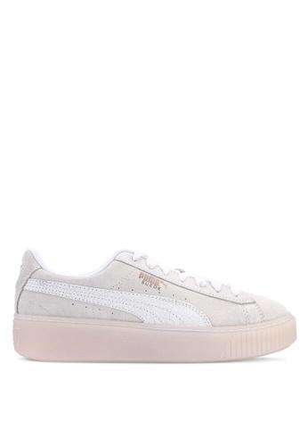 389ebc627ac0 PUMA white Sportstyle Prime Suede Platform Artica Women s Shoes  D4BB5SHA9150FFGS 1