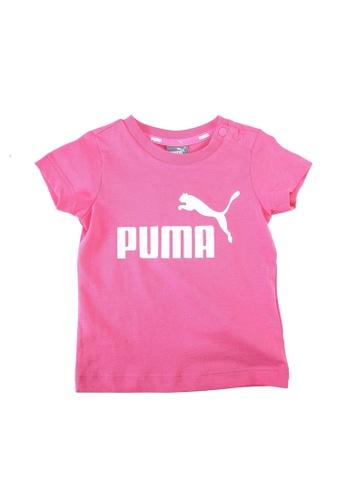 PUMA pink Puma Sportstyle Core No.1 Logo Tee 2D859KA088B42FGS_1