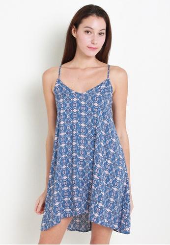 Leline Style blue Andra Mini Dress LE802AA23UUESG_1