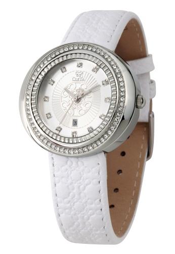 CLETA white and silver Cub Eye Watch CL733AC97FTIPH_1