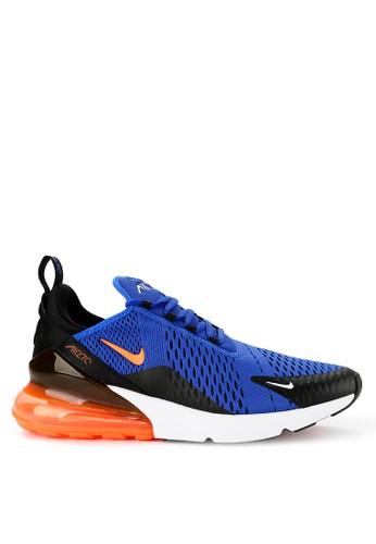 Nike blue Nike Air Max 270 Running Shoes 8230DSH376C710GS_1