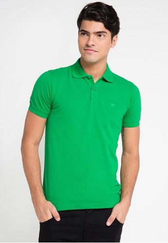 Hassenda green Short Sleeve HA130AA0VPEVID_1