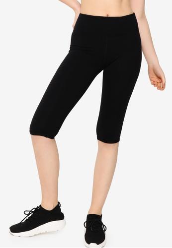 Lorna Jane black Essential 3/4 Tights 08DAAAA19F771AGS_1