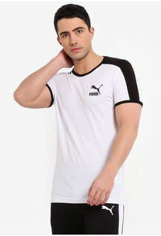 Puma white Sportstyle Prime Iconic T7 Tee 75749AAD6FE2ECGS 1 aab97a013