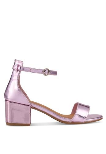 Rubi purple Ivy Block Heels 0D17BSH67414B5GS_1