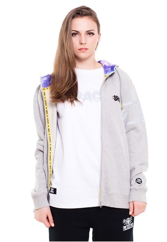 Reoparudo grey RPD Space Graphic Edition Zip Hoodie (Grey) CDB71AA229AD2EGS_1