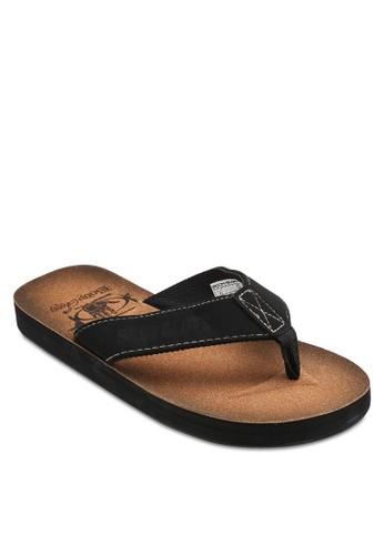 經典夾腳esprit 品牌寬帶涼鞋, 鞋, 鞋