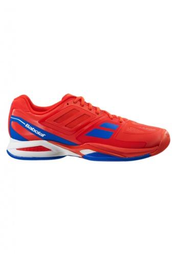Babolat red Propulse Team All Court Men's Tennis Shoes BA220SH23GYEPH_1