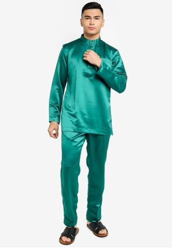 REALFANTASY green BAJU MELAYU SHAH ISKANDAR 26CE1AAC762027GS_1