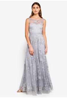 cb17baf45e6 63% OFF Goddiva Mesh Embroidered Maxi Dress HK  889.00 NOW HK  328.90 Sizes  8