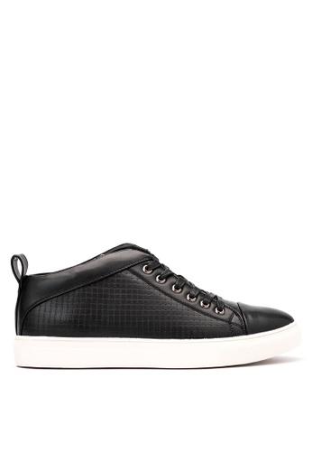 Mendrez black Lace up Sneakers ME992SH12VWTPH_1