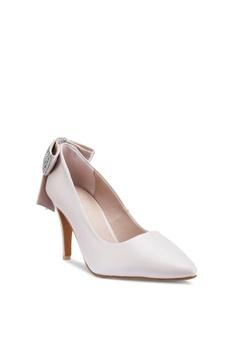 d3257d01c7ac prettyFIT Crystal Bow Heel Pumps S  89.90. Sizes 35 36 37 38 39