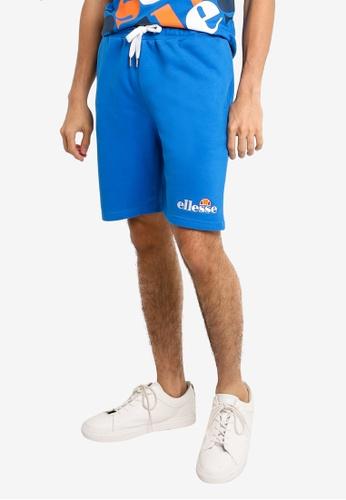 ellesse blue Silvan Fleece Shorts - Ellesse Heritage 994BDAAA59F536GS_1