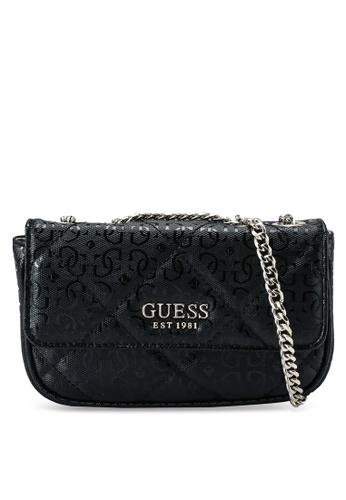 Guess black Dilla Micro Mini Crossbody Bag 447BBAC0BE6C46GS_1