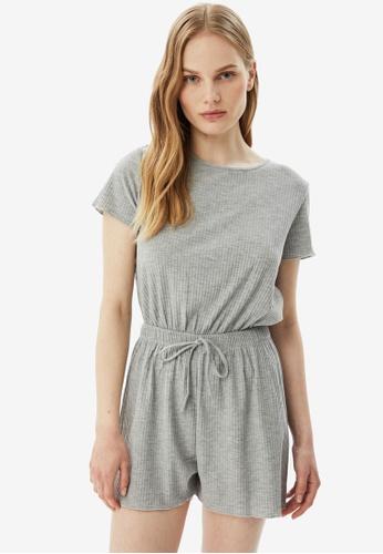 Trendyol 灰色 灰色 Pyjamas 9913CAA2FA7160GS_1
