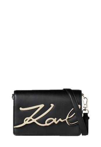 KARL LAGERFELD black K/Signature Shoulderbag D259CACE770FF7GS_1
