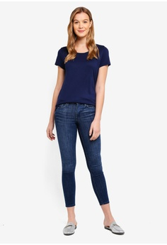397418318b7 59% OFF GAP Faded Skinny Jeans RM 210.00 NOW RM 86.90 Sizes 28 SHORT