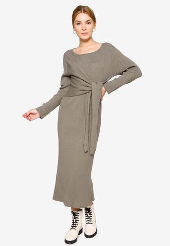 LOWRYS FARM green Casual Woven One Piece Dress A871FAA59270C4GS_1