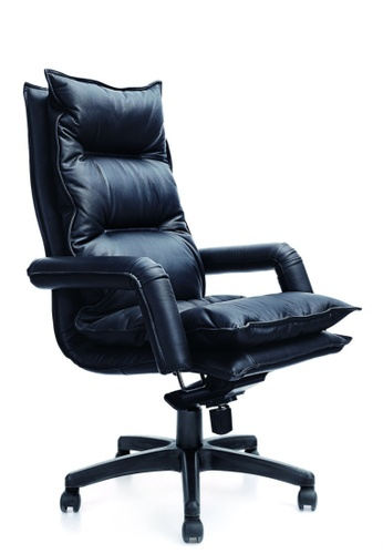 AMERCIS black Amercis Royal A Leather Office Chair 61A97HLE3039D0GS_1