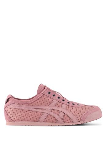 Onitsuka Tiger pink Mexico 66 Slip-Ons ON067SH0SVW7MY_1