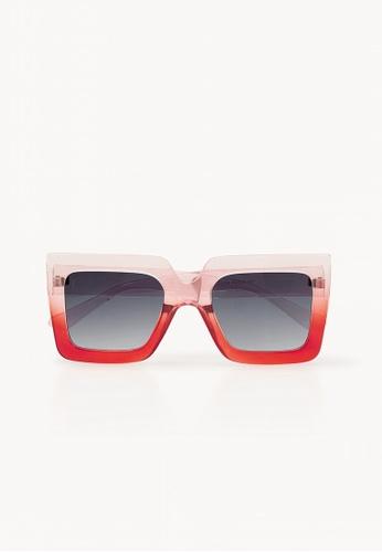 12cf7955bc Pomelo pink Gradient Square Sunglasses - Pink 0D5B3GL7B77C83GS 1