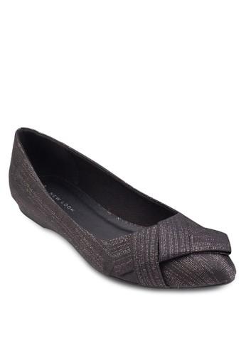 亮面扭結平底鞋、 女鞋、 鞋NewLook亮面扭結平底鞋最新折價