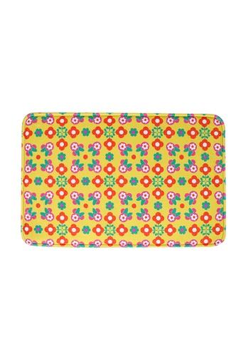 HOUZE HOUZE - Mickey Yellow Peranakan Mosaic - Memory Foam Mat (Disney) 2C607HL484E041GS_1