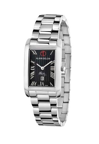 Alain Delon silver Alain Delon Women AD345-2331 Silver Stainless Steel Watch B3134AC5375AEBGS_1