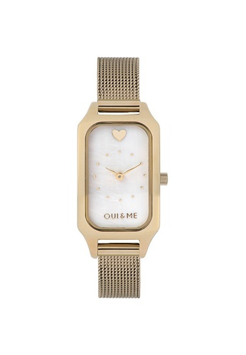 Oui & Me gold OUI&ME Finette Quartz Watch Gold Metal Band Strap ME010198 051A7ACE9315D9GS_1