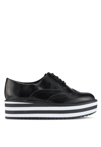 ALDO black Wadolia Lace Up Oxfords AACC1SHF2F9A5DGS_1