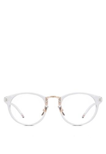 Drow 透明鏡片esprit 衣服粗框眼鏡, 飾品配件, 眼鏡