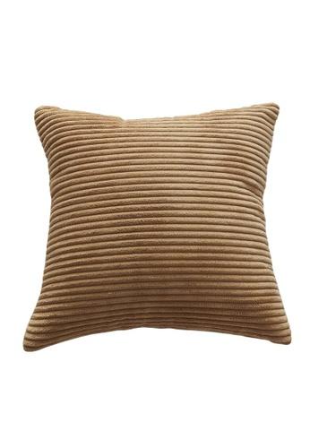DILAS HOME Basic Corduroy Cushion Cover (Brown) 451FEHL32114F8GS_1
