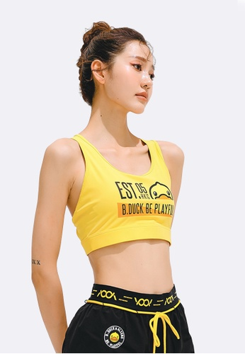 B.Duck yellow B.Duck Women Training Sports Bra B4651US1D31560GS_1